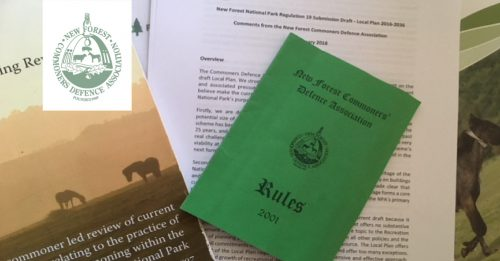 About the New Forest Commoners Defence Association