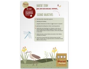 Habitat Comparison Objectives
