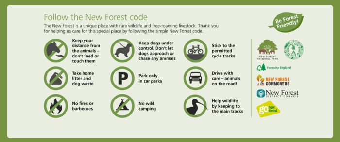 New Forest code July 2020
